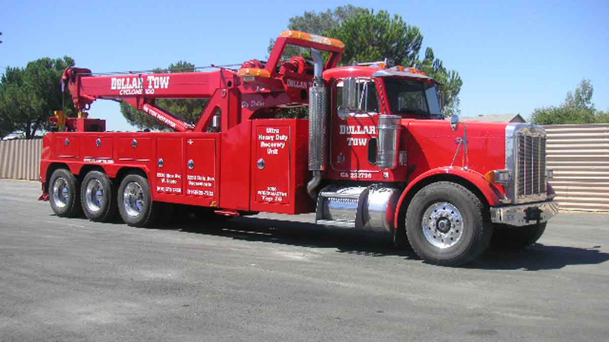 heavy duty towing sacramento